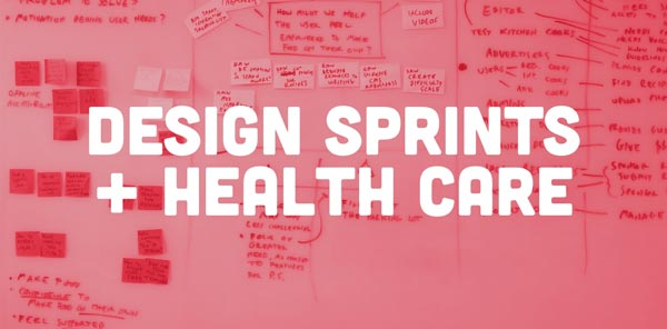 Design Sprints and healthcare article image